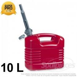 Bidon 10 litres ( essence, huile, liquide alimentaire)