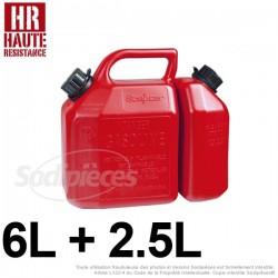 Bidon 6 litres + 2,5 litres