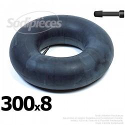 Chambre à air 300 x 8 valve droite