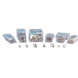 Colliers Serflex. Coffret de 10. diam serrage 10 à 19 mm