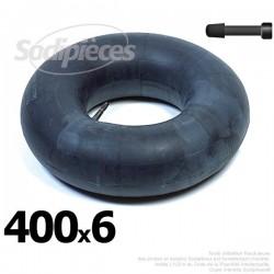 Chambre à air 400 x 6 valve droite
