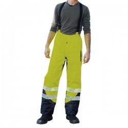 Pantalon de pluie jaune taille XXXL