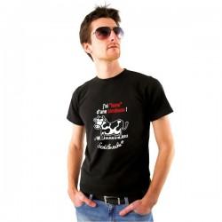 """T-shirt : """" J'ai lame d'une tondeuse... ! Homme Taille XL"""