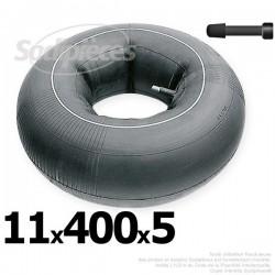 Chambre à air 11 x 400 x 5 valve droite