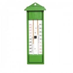 Thermometre mini maxi vert. Sans mercure