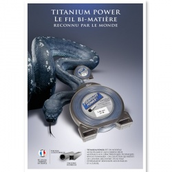 fil Titanium PLV offerte !