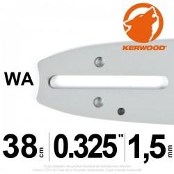 "Guide Kerwood. 38 cm, 0,325"". 1,5 mm. 15C3KSWA"