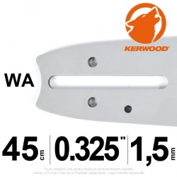 "Guide Kerwood. 45 cm, 0,325"". 1,5 mm. 18C3KLWA"
