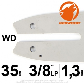 "Guide tronçonneuse Kerwood. 35 cm. 3/8""LP. 1,3 mm. 14B2KCWD"