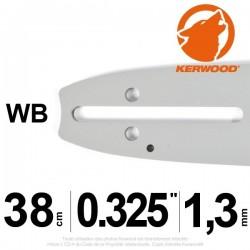"""Guide Kerwood. 38 cm, 0,325"""". 1,3 mm. 15C2KSWB"""