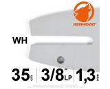 "Guide Kerwood. 35 cm, 3/8""LP. 1,3 mm. 14B2KCWH"