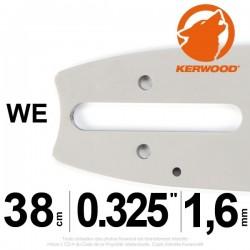 """Guide KERWOOD . 38cm 0.325"""". 1.6 mm. 15C4KSWE"""