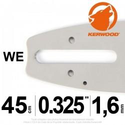 """Guide KERWOOD . 45cm 0.325"""". 1.6 mm. 18C4KSWE"""
