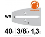"Guide Kerwood. 40 cm, 3/8""LP. 1,3 mm. 16B2KCWB"