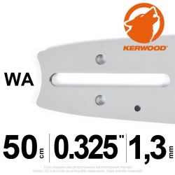"Guide Kerwood. 50 cm, 0,325"". 1,3 mm. 20C2KLWA"