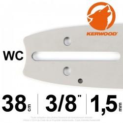"""Guide KERWOOD .38cm 3/8"""". 1.5 mm. 15A3KSWC"""