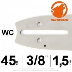 """Guide KERWOOD. 45cm 3/8"""". 1.5 mm. 18A3KSWC"""