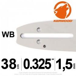 """Guide KERWOOD  38cm 0.325"""". 1.5 mm. 15C3KSWB"""