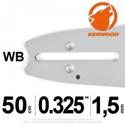 """Guide Kerwood. 50 cm, 0,325"""". 1,5 mm. 20C3KSWB"""