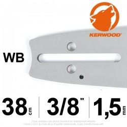 """Guide Kerwood. 38 cm, 3/8"""". 1,5 mm. 15A3KSWB"""