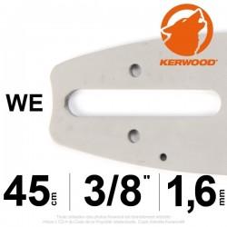 """Guide KERWOOD. 45cm 3/8"""". 1.6 mm. 18A4KLWE"""