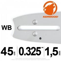 "Guide Kerwood. 45 cm, 0,325"". 1,5 mm. 18C3KLWB"