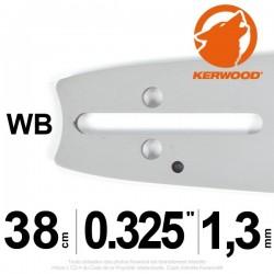 "Guide Kerwood. 38 cm, 0,325"". 1,3 mm. 15C2KLWB"