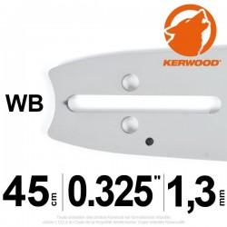 "Guide Kerwood. 45 cm, 0,325"". 1,3 mm. 18C2KLWB"