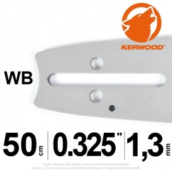 "Guide Kerwood. 50 cm, 0,325"". 1,3 mm. 20C2KLWB"