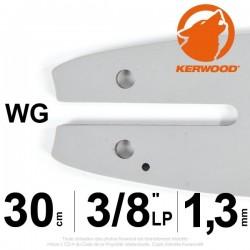 "Guide Kerwood. 30 cm, 3/8""LP. 1,3 mm. 12B2KCWG"