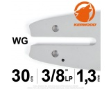 "Guide Kerwood. 30 cm, 3/8""LP. 1,3 mm. 12B2KCWG"