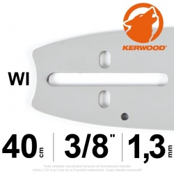 "Guide Kerwood. 40 cm, 3/8"". 1,3 mm. 16A2KLWI"