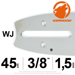 "Guide Kerwood. 45 cm, 3/8"". 1,5 mm. 18A3KLWJ"