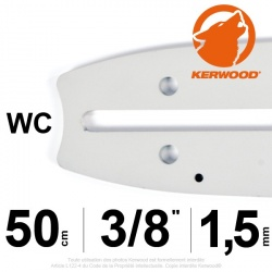 "Guide Kerwood. 50 cm, 3/8"". 1,5 mm. 20A3KNWC"