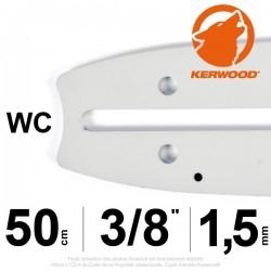 "Guide Kerwood. 50 cm, 3/8"". 1,5 mm. 20A3KNWC"