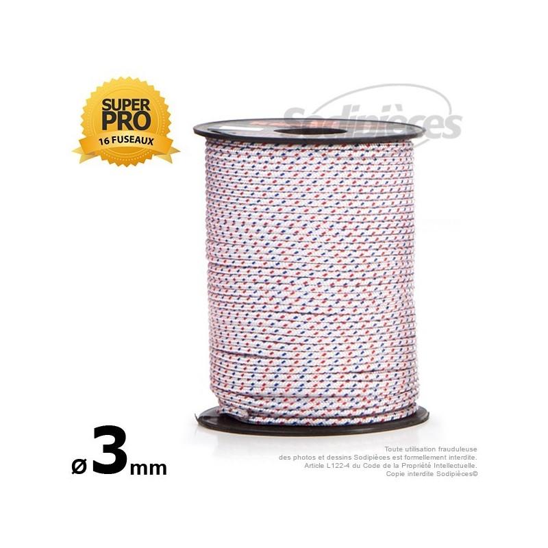 Corde de lanceur Ø 3 mm x 100 m