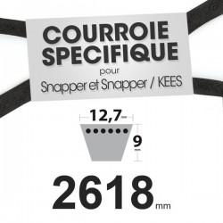 Courroie spécifique Snapper 1-4799. 12,7 mm x 2618 mm.