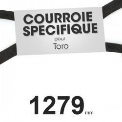 Courroie spécifique Toro 51-4290. 13 mm x 1279 mm.