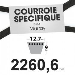 Courroie spécifique Murray 37 x 106. 12,7 mm x 2260,6 mm.
