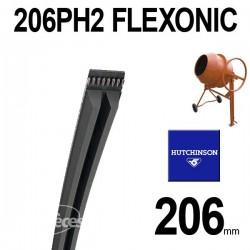 Poly-V Elastique FLEXONIC 206PH2