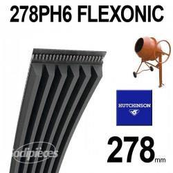 Poly-V Elastique FLEXONIC 278PH6