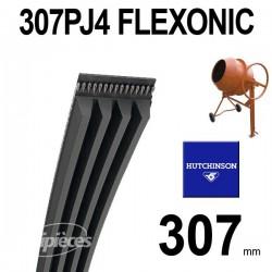 Poly-V Elastique FLEXONIC 307PJ4