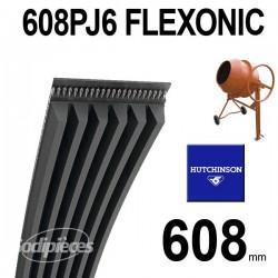 Poly-V Elastique FLEXONIC 608PJ6
