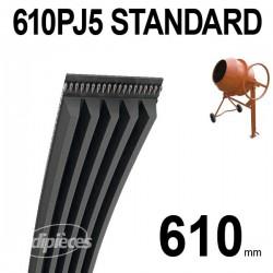 Poly-V Standard 610PJ5
