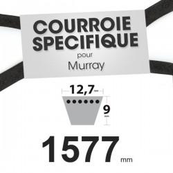 Courroie spécifique Murray 37 x 40, 23748, 37 x 21. 12,7 mm x 1577 mm.