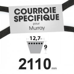 Courroie spécifique Murray 37 x 63. 12,7 mm x 2110 mm.