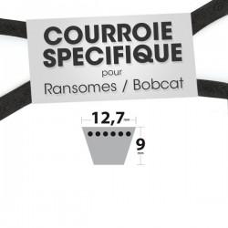 Courroie spécifique Ransomes 38031 N. 12,7 mm x 0 mm.