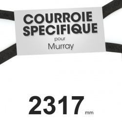 Courroie spécifique Murray 37 x 75. Profil W mm x 2317 mm.