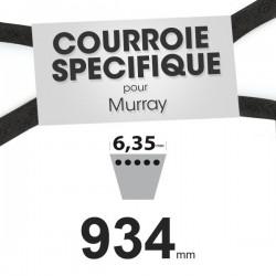 Courroie spécifique Murray 37 x 64. 6,35 mm x 934 mm.