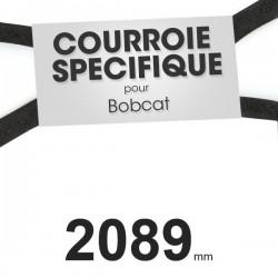 Courroie spécifique Bobcat 38440. 16,7 mm x 2089 mm.